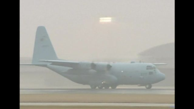 News video: Japan aids missing plane search