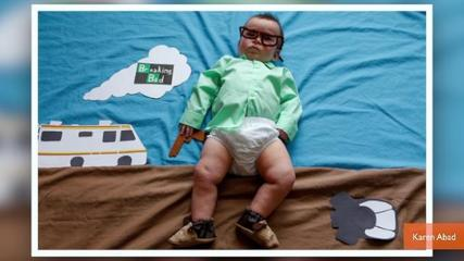 News video: Adorable Baby Dresses Up As Your Favorite TV Characters